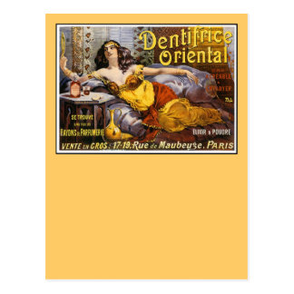 Oriental Perfume Paris France Postcard