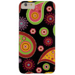 Oriental Persian Paisley - Green Yellow Red Barely There iPhone 6 Plus Case