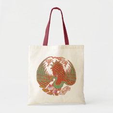 Oriental Pheasant Bag at Zazzle