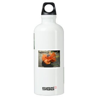 Oriental Poppy Aluminum Water Bottle