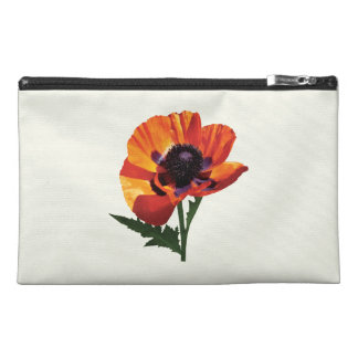 Oriental Poppy Travel Accessories Bags
