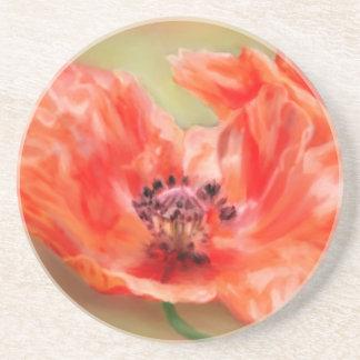 Oriental Poppy Coaster