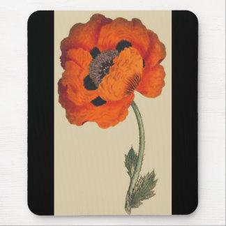 Oriental Poppy Flower Mousepad
