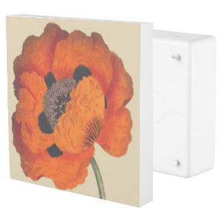Oriental Poppy Flowers Floral Inlet Outlet Cover