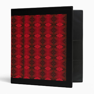 Oriental Poppy Pattern Binder