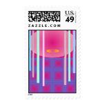 Oriental Postage Stamp