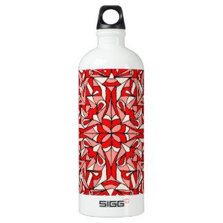 Oriental rug design! aluminum water bottle