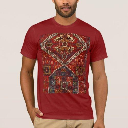 Oriental rug design _ ethnic fashion T_Shirt