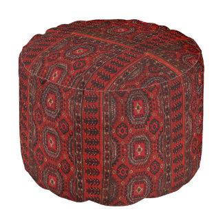 Oriental  rug pattern pouf