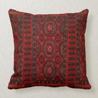 Oriental rug throw pillow