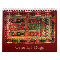 Oriental rugs 2018 calendar