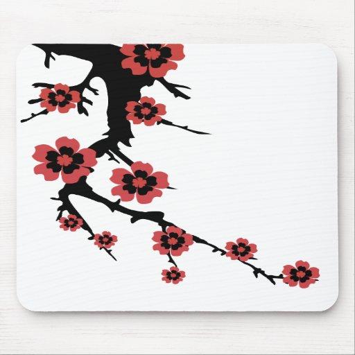 Oriental Sakura, Cherry Blossoms Mousepad