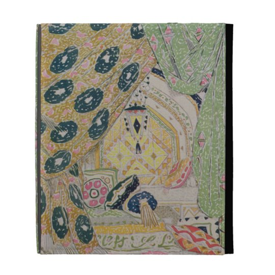 Oriental Scenery Design (colour litho) iPad Cases
