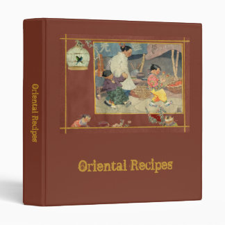 Oriental Scrapbook Binder