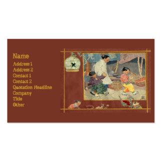 Oriental Scrapbook Business Cards