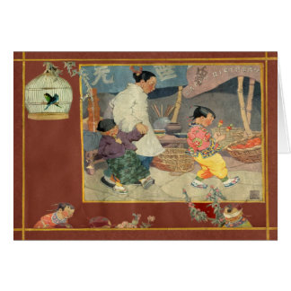 Oriental Scrapbook Card