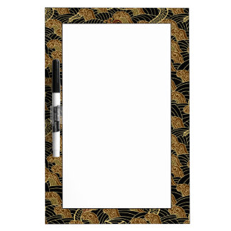 Oriental Sea Dragon Pattern Dry-Erase Board