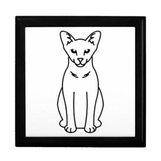 Oriental Self Cat Cartoon Jewelry Box