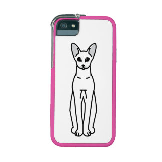 Oriental Shorthair Cat Cartoon Case For iPhone 5/5S