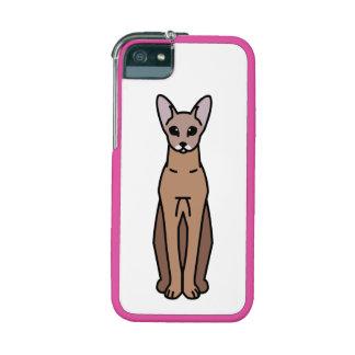 Oriental Shorthair Cat Cartoon iPhone 5 Case