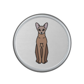 Oriental Shorthair Cat Cartoon Bluetooth Speaker