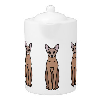 Oriental Shorthair Cat Cartoon