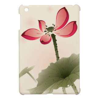 Oriental style Lotus Cover For The iPad Mini