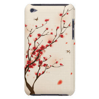 Oriental style painting, plum blossom in spring 2 barely there iPod cover