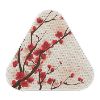 Oriental style painting, plum blossom in spring 2 bluetooth speaker