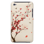 Oriental style painting, plum blossom in spring 2 iPod Case-Mate cases