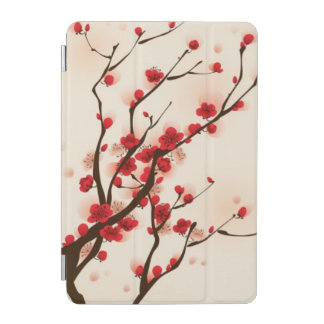 Oriental style painting, plum blossom in spring 2 iPad mini cover