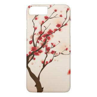 Oriental style painting, plum blossom in spring 2 iPhone 8 plus/7 plus case