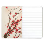 Oriental style painting, plum blossom in spring 2 journals