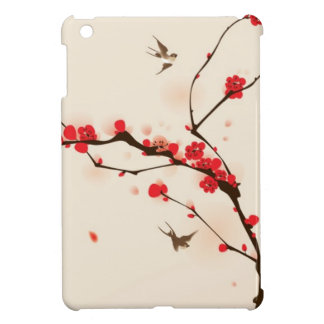 Oriental style painting, plum blossom in spring 3 cover for the iPad mini