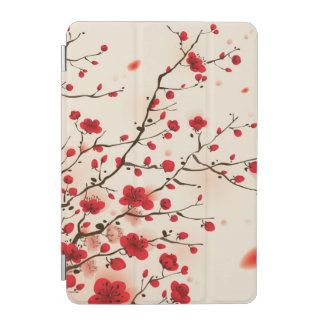 Oriental style painting, plum blossom in spring iPad mini cover