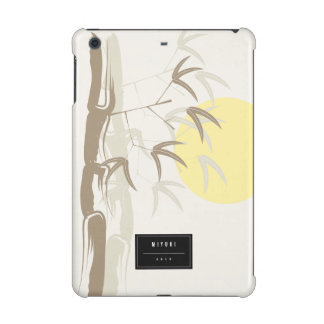 Oriental Sunrise Bamboo Garden Artistic iPad Case