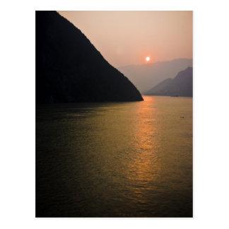 Oriental Sunrise Postcard