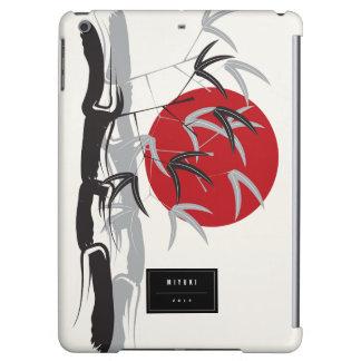 Oriental Sunset Bamboo Garden Artistic iPad Case