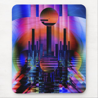 Oriental Sunset Mouse Pad