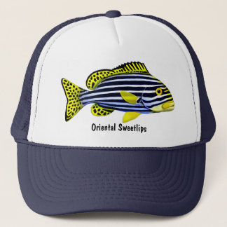 Oriental Sweetlips Pacific Fish Hat