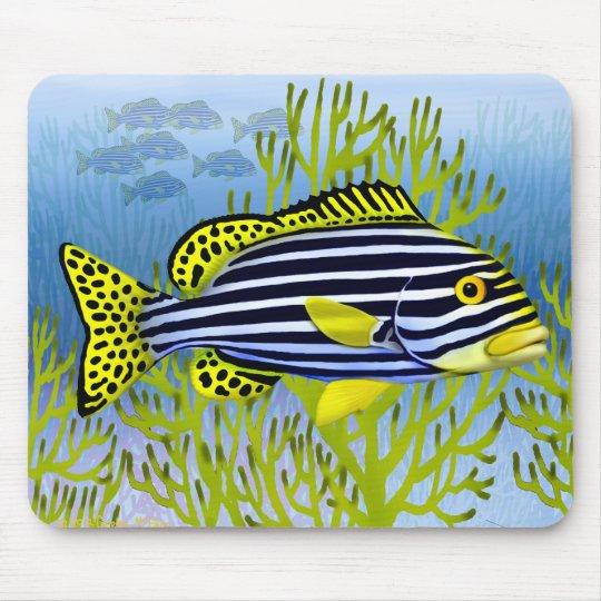 Oriental Sweetlips Reef Fish Mousepad