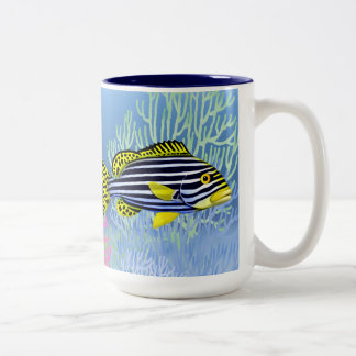 Oriental Sweetlips Reef Fish Mug