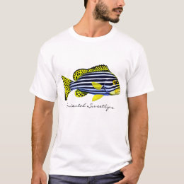 Oriental Sweetlips Reef Fish T-Shirt
