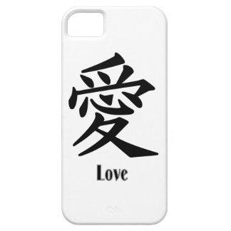 "Oriental symbol for ""LOVE"" iPhone SE/5/5s Case"