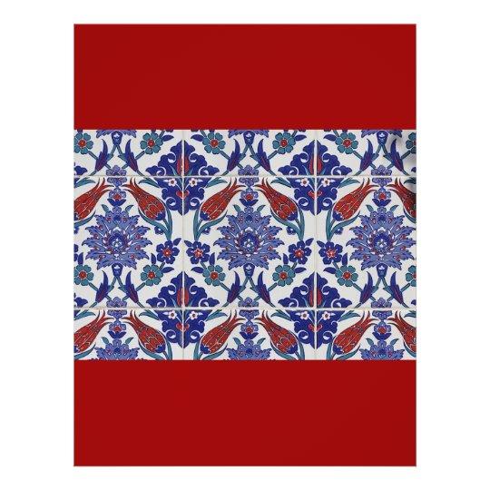 oriental-tile-pattern flyer