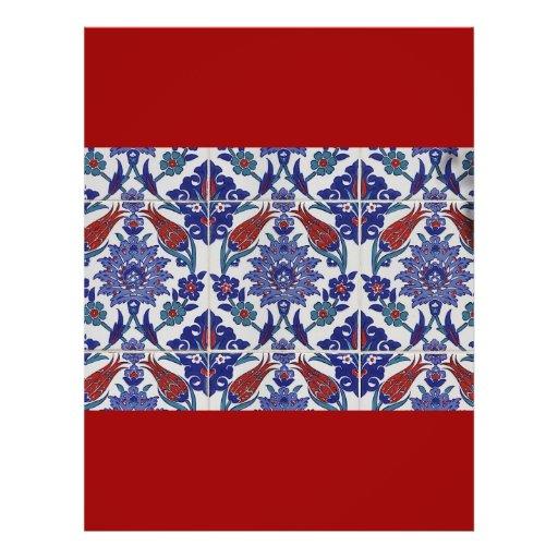oriental-tile-pattern flyers