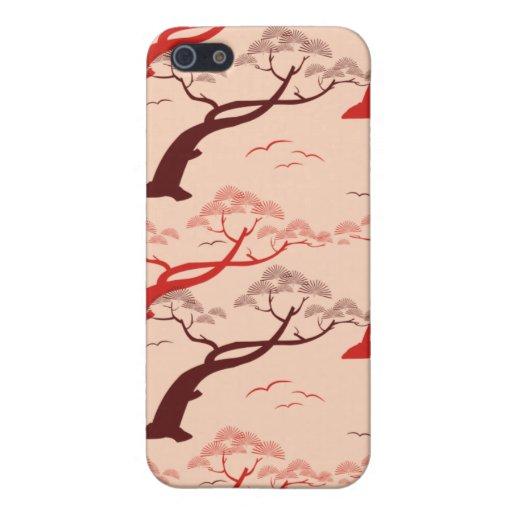 Oriental Trees iPhone 5 Cases