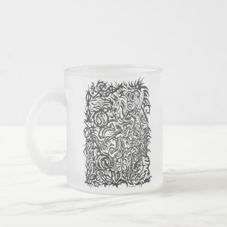 Oriental Tribal Frosted Mug