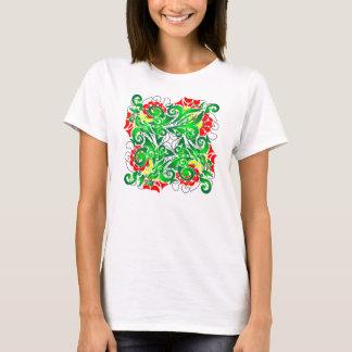 oriental vivid pattern T-Shirt
