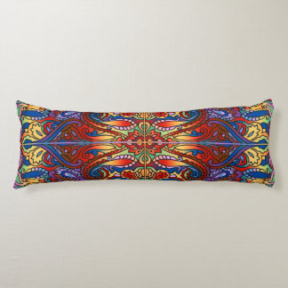Oriental Watercolor Pattern I + your ideas Body Pillow